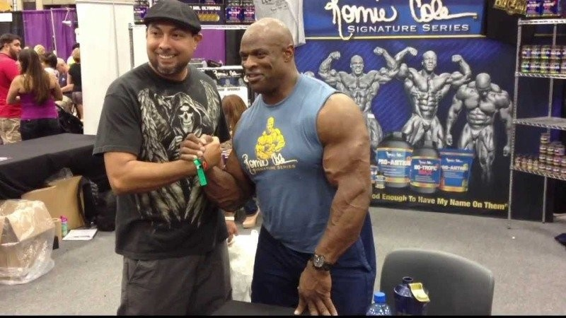 ronnie coleman height