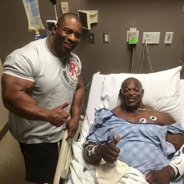 ronnie coleman injury 2014