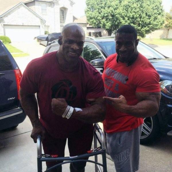 ronnie coleman injury 2015