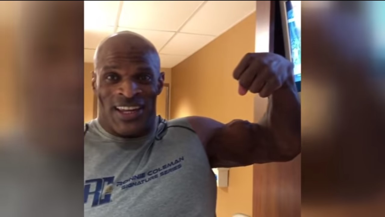 ronnie coleman now 2018