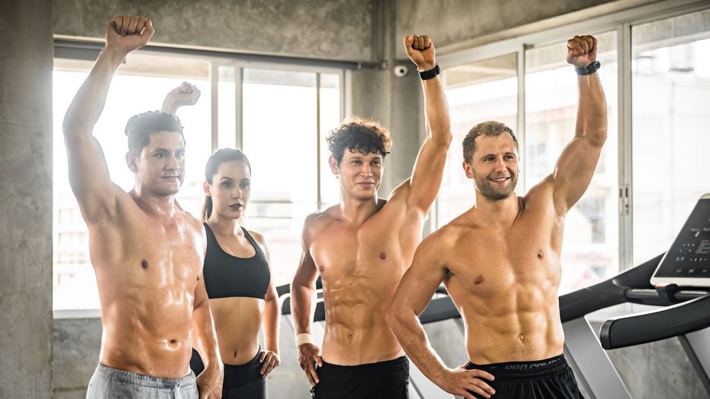 how to get muscle definition