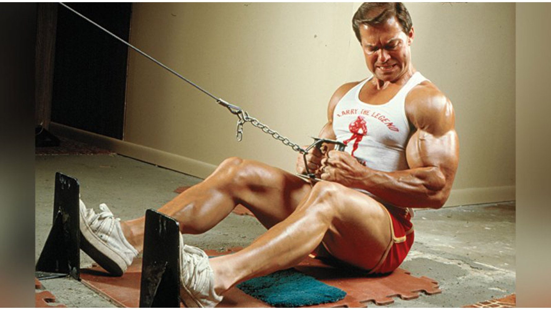 larry scott and steroids