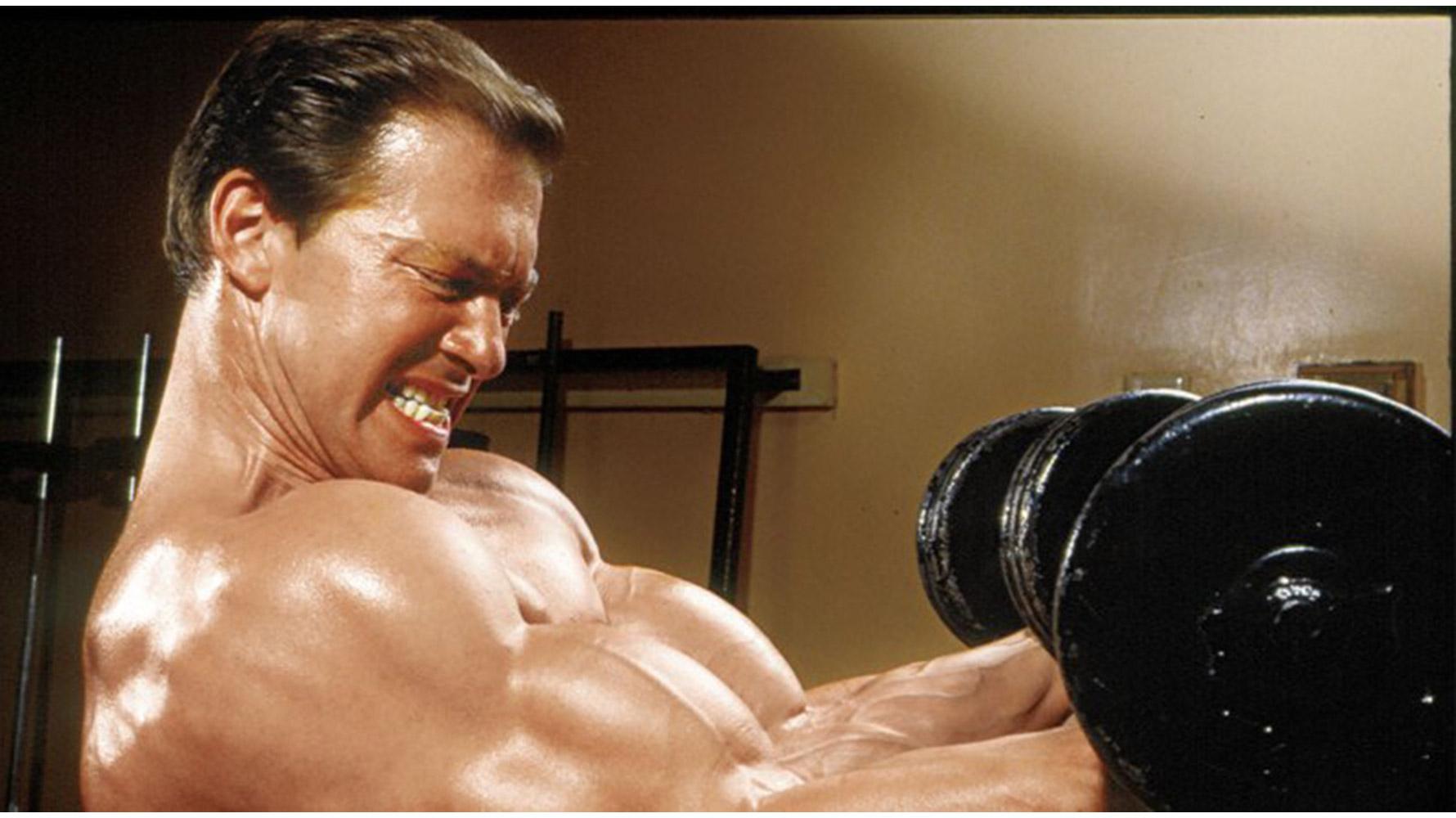 larry scott workout routine